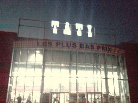Tag tati terville thionville shopping - Roi du matelas luxembourg ...